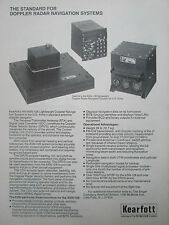 10/1977 PUB SINGER KEARFOTT AN/ASN-128 ARMY DOPPLER RADAR NAVIGATION SYSTEMS AD