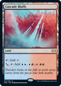 Cascade-Bluffs-x1-Magic-the-Gathering-1x-Double-Masters-mtg-card