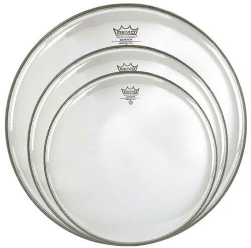 Remo Emperor Transparent Standard Tom Fell Set 12 13 16