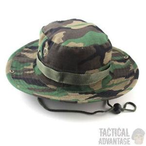 DPM Boonie Bush Jungle Hat Wide Brim Army Military Sun Bucket Cap ... cbc5005500d