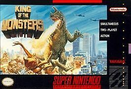 king of the monsters snes