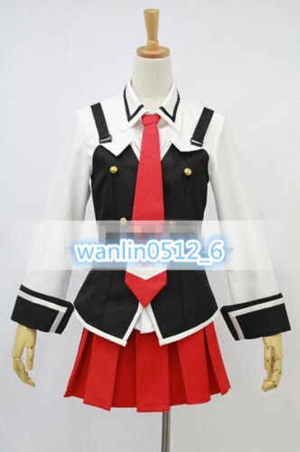 Bible Black Imari Kurumi School Uniform Costume Cosplay Full Set