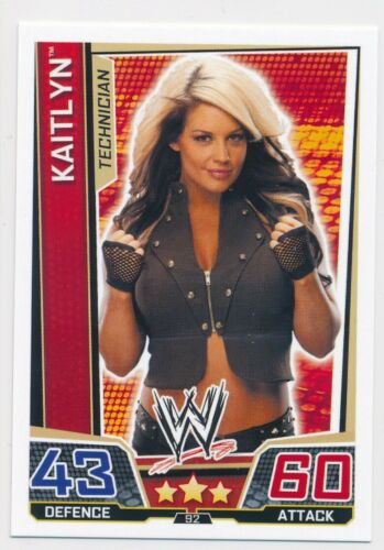 2013 Topps Wwe Slam Attax Superstars Kaitlyn
