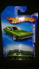 2010 HOT WHEELS MUSCLE MANIA 03//10 GREEN 69 COUGAR ELIMINATOR