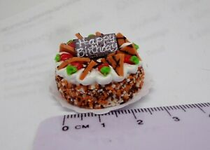 1:12 Scale  Dolls house Miniatures Cake T 7