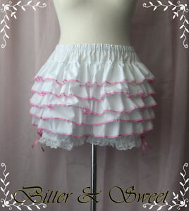 Bloomer Can lolita m Ruffle All s With l Short Around burlesque steampunk xl Can afBqB