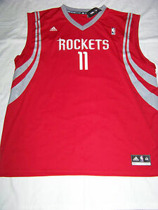 watch 84b7a bbd12 Details about Adidas Men's Houston Rockets #11 Yao Ming Jersey NWT 2XL