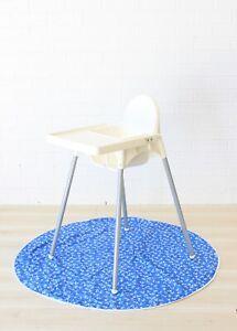 feeding high chair waterproof machine washable MR THEO baby messy splat mat