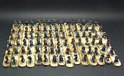 Régiment d'infanterie confédérée Acw de 10 mm * peinturé *