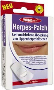 Wundmed-Herpes-Patch-Herpes-Pansement-6-Piece-Transparent
