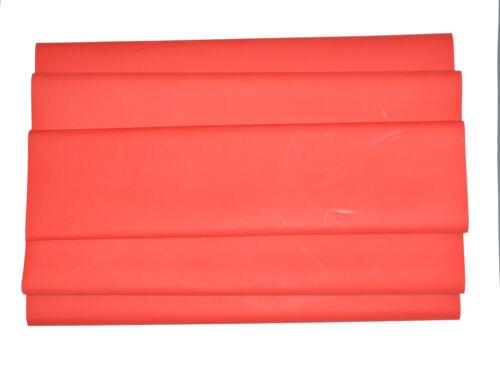 "DW1S3X-50.0 Dual Wall 3:1 Heat Shrink Tubing 50mm 1 Foot - RED Qty: 5 2/"""
