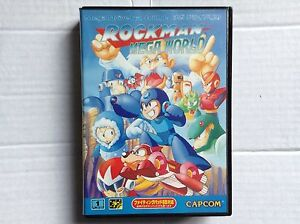 Sega-Mega-MEGADRIVE-juego-Rock-Mega-Man-mundo-autentico-Japon-NTSC-J-Autentico