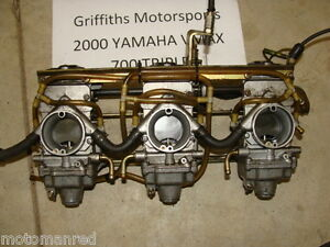 Yamaha Triple Carbs