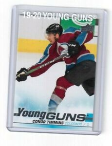 2019-20-Upper-Deck-Series-One-Young-Guns-Card-Conor-Timmins-Colorado-Avalanche