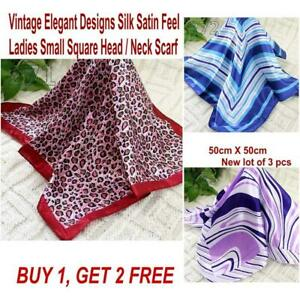Lot-3-Pcs-New-Fashion-Elegant-Silk-Satin-Womens-Small-Square-Head-Neck-Scarf-088