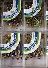 100 pcs Women Hijab Pins Muslim Islamic Scarf Pins One Box Shawls Shayla Pins