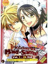 DVD Anime Kaichou Wa Maid-Sama! Complete TV Series 1-26 Plus OVA Eng Sub
