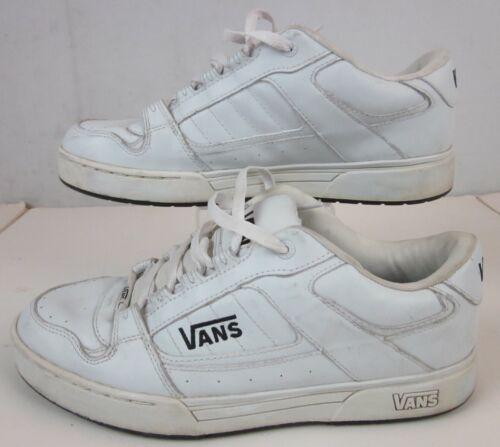 VANS Classic Skate Shoes Men's size 10.5, White