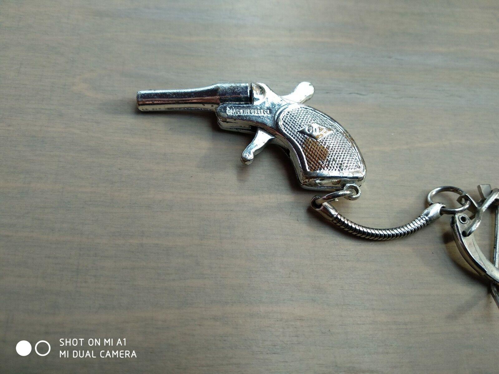 Vintage james bond greek 007 mini pistol 70s very rare