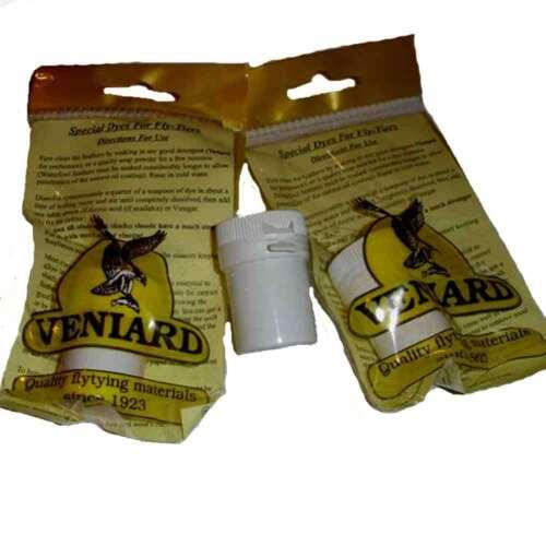 Veniard Fly Dye Tubes Golden Olive