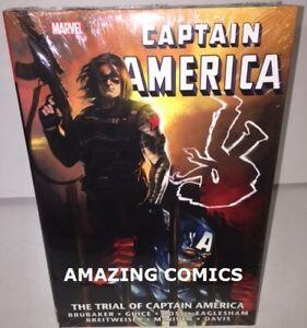 Marvel-CAPTAIN-AMERICA-TRIAL-OF-Omnibus-Hardcover-HC-NEW-MSRP-100