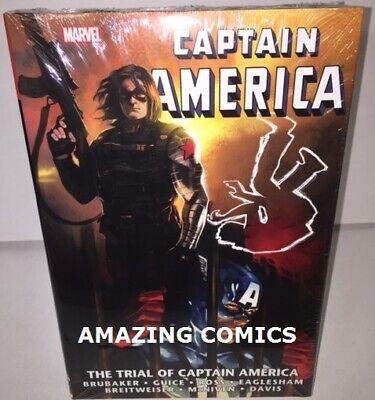 NEW* MSRP $100 Marvel CAPTAIN AMERICA TRIAL OF Omnibus Hardcover HC