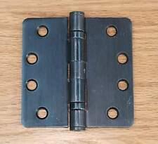 """5-Steel Black Satin 7/"""" Ornamental Screw Hook /& Gate Strap Hinge 2//Pk N165464"""
