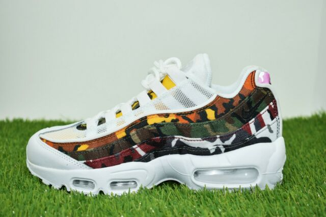 low priced 99e47 f72aa New Nike Air Max 95 ERDL Party Size 4 White Multi-Color AR4473-100