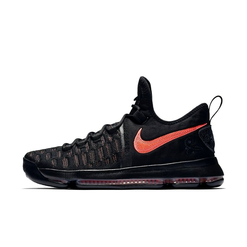 NIKE ZOOM KD9 PRM AUNT PEARL Black Basketball Shoes 7 Mens 881796 060