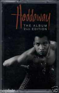 HADDAWAY-THE-ALBUM-2ND-EDITION-1993-GERMAN-CASSETTE-COCONUT-74321-18275-4