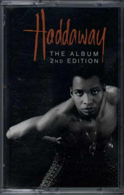 HADDAWAY - THE ALBUM (2ND EDITION) 1993 GERMAN CASSETTE COCONUT - 74321 18275 4