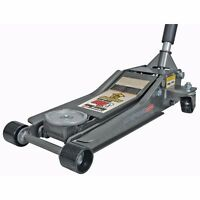 Pittsburgh 3 Ton Low Profile Steel Heavy Duty Floor Jack with Rapid Pump