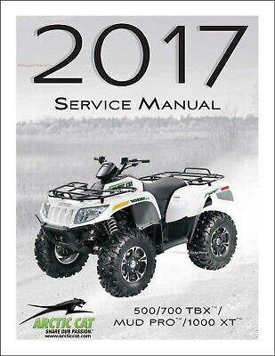 Manuals & Literature Automotive 2016 Arctic Cat ATV Alterra 500 ...