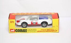 Corgi-371-Porsche-Carrera-6-Whizzwheels-En-Su-Caja-Original-Casi-Nuevo-Vintage