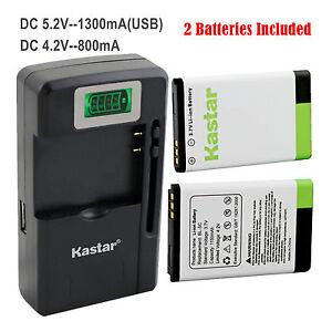 Kastar-BL-5C-Battery-Charger-for-XpressMusic-Degen-Meloson-Portable-AM-FM-Radio