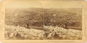 Palestina Israele Judea Terra Fattoria, Foto Stereo Vintage Albumina PL62L3