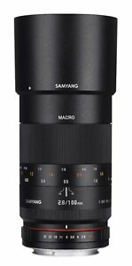 Samyang-100-mm-Macro-f2-8-Objektiv-fuer-Fuji-X-Kamera