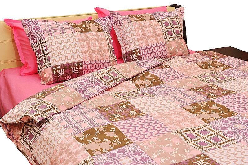 Threel Palmira 100% Cotton Ranforce Bed Linen Duvet Cover Bedding Set