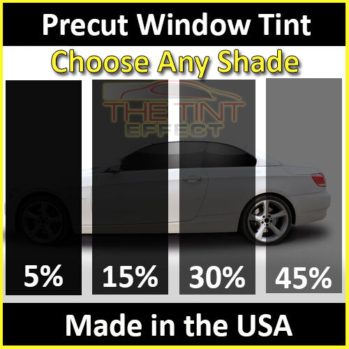 Fits 2011-2019 Ford Fiesta Hatchback Full Car Precut Window Tint Kit Film Diy