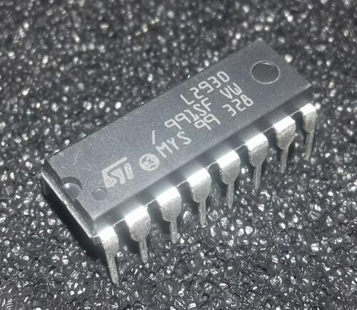 2 pcs   L293D L293 Push-Pull Four-Channel Motor Driver IC  DIP16