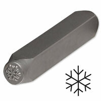 Steel Stamp Punch For Beading & Jewelry Making (snowflake)