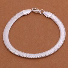 FREE GIFT BAG Silver Plated Snake Bracelet Ladies Fashion Cute Costume Jewellery