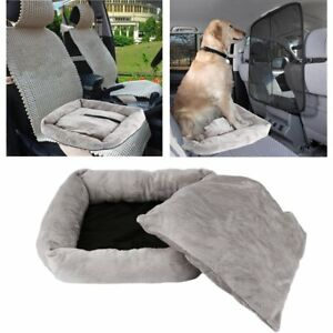 Image Is Loading TRAVEL PET PUPPY DOG CAR SEAT BED COMFORT