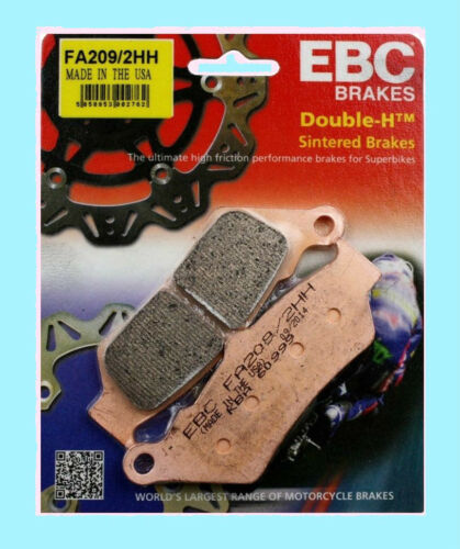 EBC FA209HH Sintered Rear Brake pads for Triumph Rocket lll 2004 to 2015