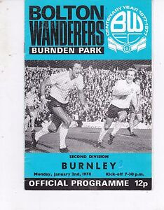 BOLTON-WANDERERS-V-BURNLEY-DIVISION-TWO-2-1-78