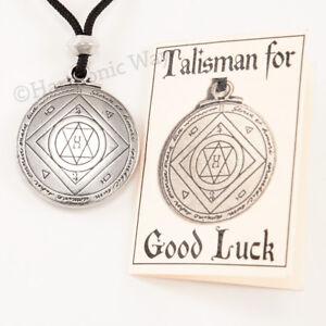 Talisman-EXTREME-GOOD-LUCK-Necklace-Pendant-Solomon-Seal-of-Magic-Amulet