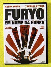 Furyo: Em Nome Da Honra ~ DVD Movie Portugese Release ~ David Bowie Mr Lawrence