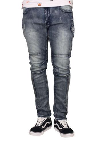 Trillnation Slim Fit Jeans Stretch avec côté Snap poches