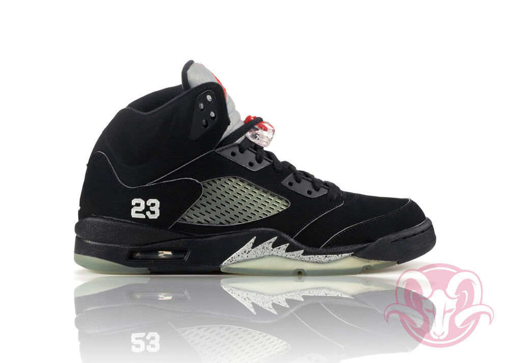 Nike Air Jordan 5 136027 004 Metallic Silver Comfortable The latest discount shoes for men and women