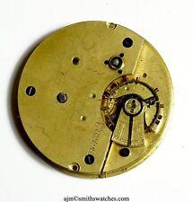 ENGLISH LEVER POCKET WATCH CENTRE SECONDS CHRONOGRAPH FOR SPARES P10